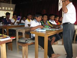 Englisch Unterricht im Children Center
