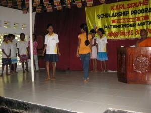 Tanz und Gesangsauführung